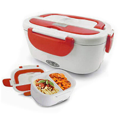 1.5L Electric Portable Electric Heated Heating Lunch Box Bento Food Rice Warmer