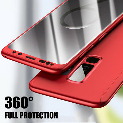 360 Case For Samsung Galaxy Note 9 S9 S8+ FullBody Protection Cover+Screen Film