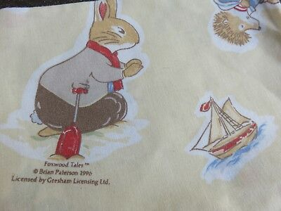 Foxwood Tales nursery pillow case by Zorbit suitable for cot / crib