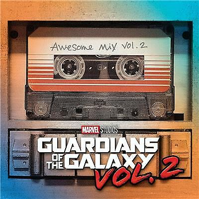 "Guardians of the Galaxy Vol 2 Awesome Mix Vol. 2 OST CD ""New"""