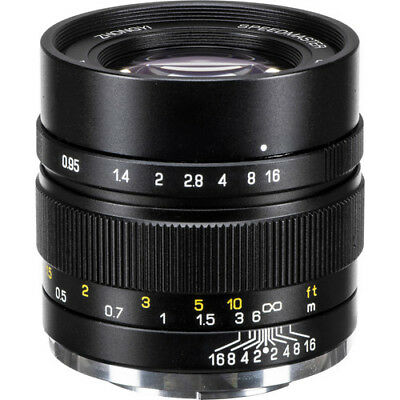 Zhongyi Mitakon Speedmaster 35mm f/0.95 II Lens for Sony NEX E mount A6000 A6500