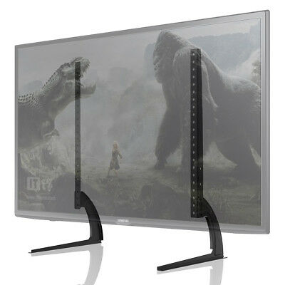 """Universal 32""""-70"""" Stands TV LCD LED Flat Screen Table Pedestal Monitor Riser"""