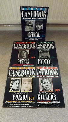 Murder Casebook Magazine - 5 Issues (J)
