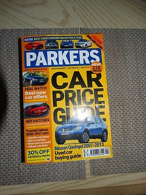 PARKERS PRICE GUIDE MAGAZINE December 2018 CAR BUYERS GUIDE EASY TO READ PRICES