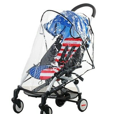 Baby Stroller Rain Cover Umbrella Wind Dust Shield Cover for Strollers Universal