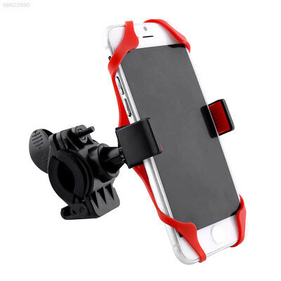 0DC9 Handlebar Mount Holder 360°Rotating 85mm For Car Cell Phone Motorcycle