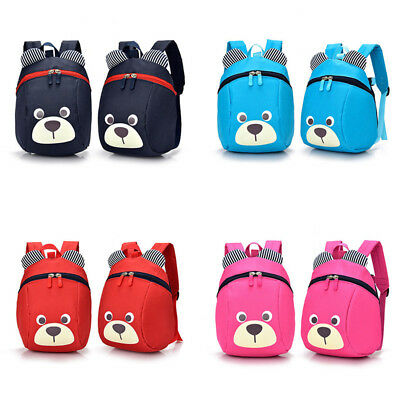 Baby Toddler Kids Safety Anti-Lost Harness Reins Backpack Strap Walker Bag New