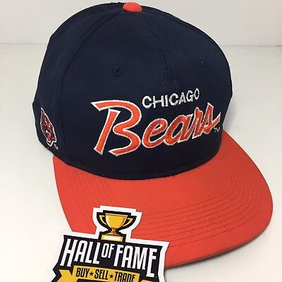 5c8649e8 coupon for vintage chicago bears script hat 54a09 22fbb