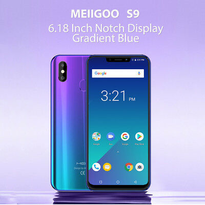 Meiigoo S9 4GB+32GB+Extra 64GB Card 6.18'' FHD Screen Android8.1 Smartphone Lot