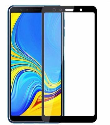 For Samsung Galaxy A7 2018 A750 Full Cover Tempered Glass Film Screen Protector