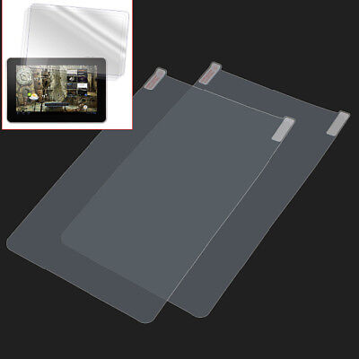 2pcs Ultra Clear Protective Film PC Screen Protector For Android Tablet New hot