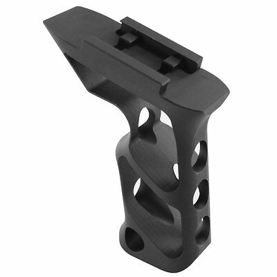 Metal Skeletonized Angled Grip 20mm Picatinny Rail Foregrip for rifle handguard