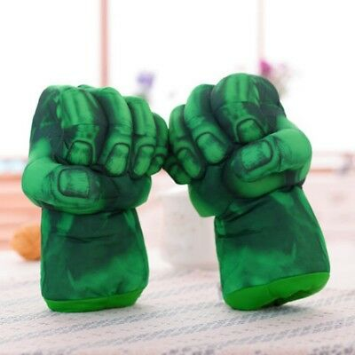 Kids Hulk Boxing Gloves Plush Toy Big Hand Gloves Play Toy Gift For Kids NEW HOT