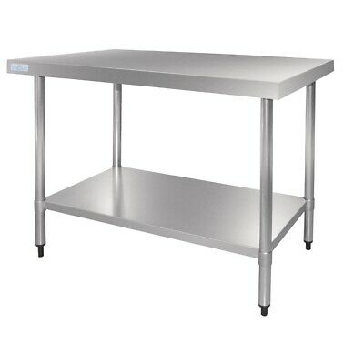 Vogue Work Table 180cm from Stainless Steel Worktop Kitchen Working Table