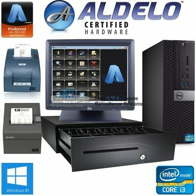 ALDELO Restaurant/Bar POS System SUPPORT & TRAINING INCLUDED w/Kitchen Printer