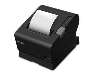 Epson T88VI Thermal  POS Printer  USB & LAN + SERIAL Auto Cutter C31CE94061 NEW