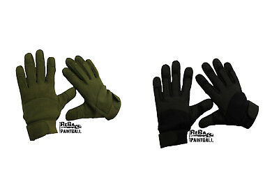 Mil-Tec Tactical Handschuhe Army  Paintball Oliv Schwarz