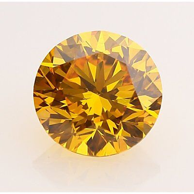 Loose Moissanite Brown Color 0.8 CT to 3.5 CT Round Cut VVS, 4 Sale 100% Genuine