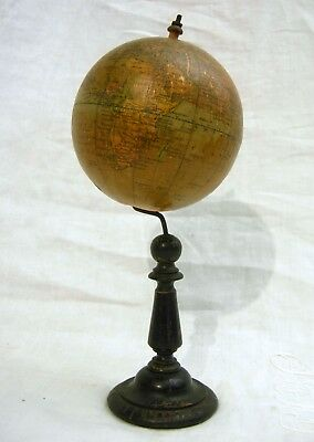 Antique 19th C. Cabinet Globe 4 In. by George Phillips of London