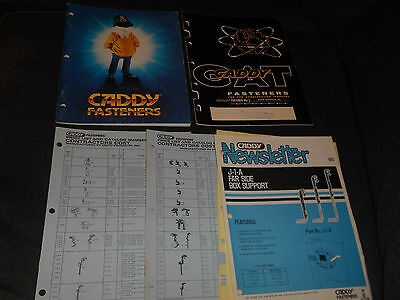Vintage 1962 & 1983 Caddy Fasteners Industrial Parts Catalog Books & Price Guide