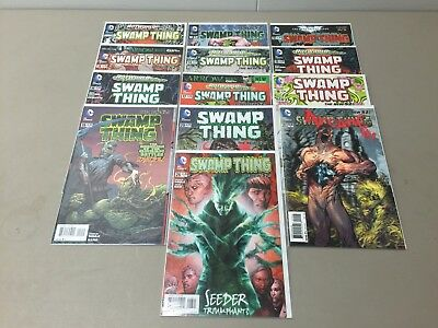 Swamp Thing (New 52) #1, 10-11, 13-20, 23.1, 26 - Lot of 13 Comic Books