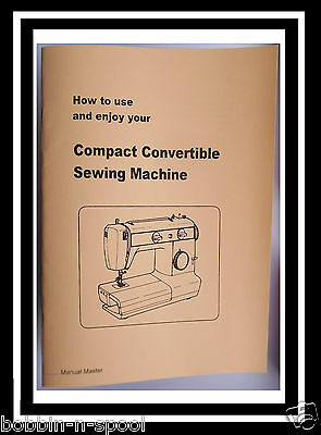 Jones Brother M 531 N Compact Convertible Sewing Machine Instructions manual