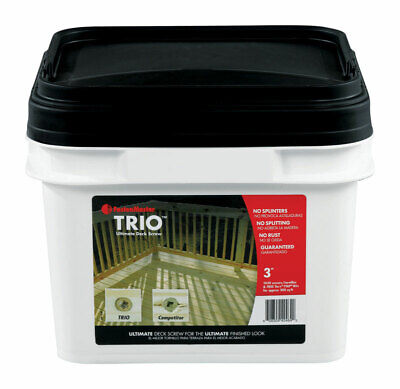 "Trio Screw 3"" Tan 1050pc Pack 1"
