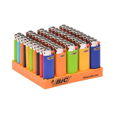 NEW Bic Mini Lighters 50ct Assorted Colors