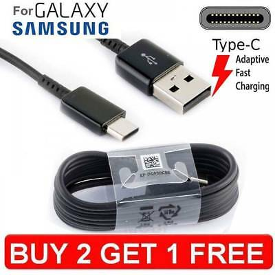 Samsung Galaxy S8, S9, Plus A3 A5 A7 2017  Fast Charger USB Data Cable Lead
