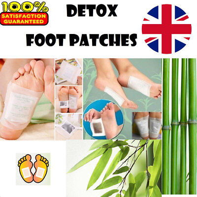 100 Kinoki Detox Foot Patch Pads Feet Patches Remove Body Toxins Weight Loss