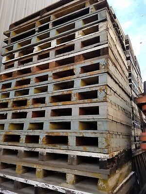 Heavy Duty Wood Pallets Industrial Skids 72x48