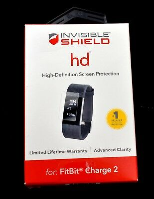 ZAGG - InvisibleShield HD Screen Protector for Fitbit Charge 2 - 76JK