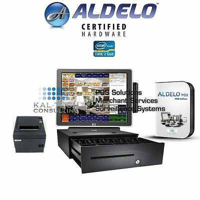 ALDELO All-In-One POS System Aldelo Pro VERSION Core 2 Duo 3GB RAM FREE SUPPORT