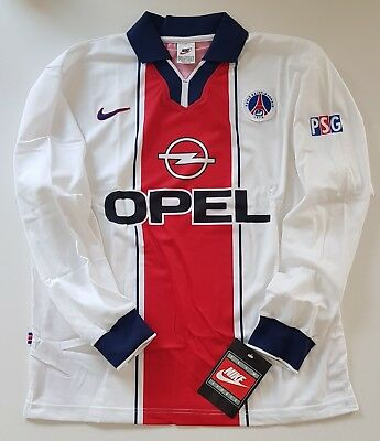 Nike Psg Paris Saint Germain 1997/98 Player Issue Soccer Shirt Jersey Maillot Og