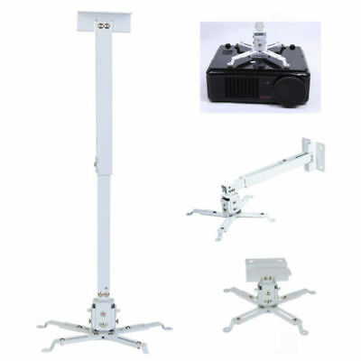 Universal Projector Ceiling Mount Bracket LCD DLP Stand Extendable Adjustable K