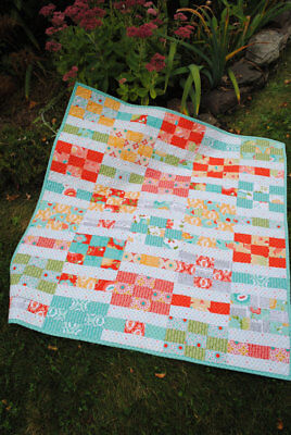 Mountain Reflections pattern by Sweet Jane/'s Layer Cake /& Fat Quarter Friendly