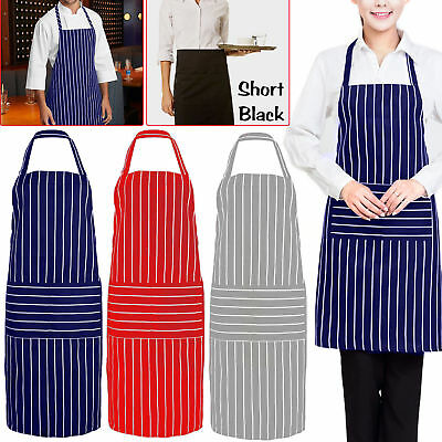 Professional Men Women Kitchen Cooking BBQ Apron Dress For Chef Cooks Butchers