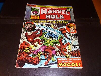 COMIC- Mighty World of MARVEL Starring the INCREDIBLE HULK- No.88, 8 June 1974