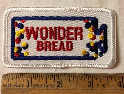 Wonder Bread Bakery Embroidered Patch