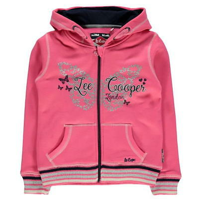 LEE COOPER Veste Sweat Zippé a Capuche Fille - neuf, original