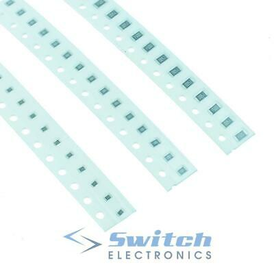 Pack of 100 - 0603 0805 1206 SMD / SMT Surface Mount Chip Film Resistor
