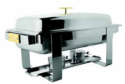 "Chafing Dish "" Elegance "", 1/1 Gn, 630x360x350mm Buffet Warmer Food Warmer"