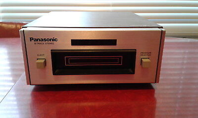 PANASONIC RS-801 AUS STEREO 8 TRACK PLAYER Tested and working well,very nice