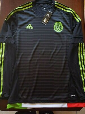 buy popular 79206 08866 ADIDAS MEXICO AUTHENTIC 2019 Home Jersey FJ4428 NWT SMALL ...