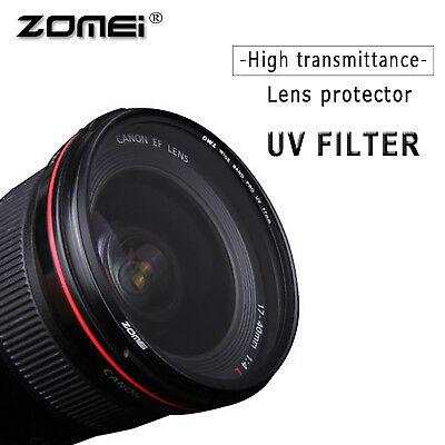 52/55/58/62/67/72/77/82mm ZOMEI Ultra-Violet UV filter protecter for DSLR Camera