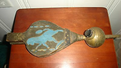 18th or 19th century Ornate Bug Duster / Rose Sprayer - Very Old One of a Kind