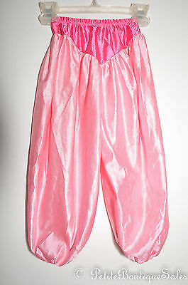 Disney Princess Jasmine Arabian Pink Pants Bottoms Size S Small Girls' Toddler