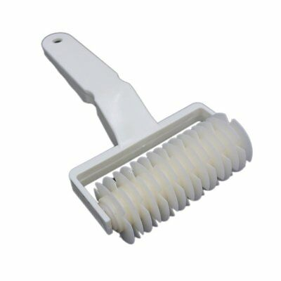 Plastic Pizza Pastry Lattice Roller Cutter Pull Net Wheel for Dough Cookie Pie@P