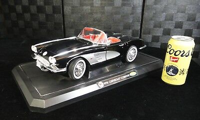 1958 Chevrolet Corvette Convertible Collectible Gearbox Diecast Model Car Chevy