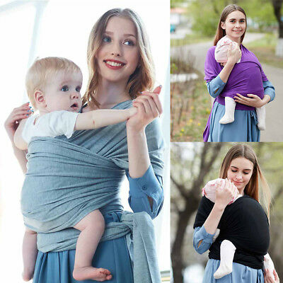 Baby Sling Cotton Stretchy Practical Wrap Carrier Infant Breastfeeding Newborn